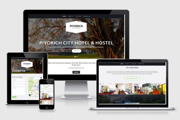 www.piyorichcityhotel.com - Anuradhapura Hotel website Delivered today to Kasun Dilanjan within 18 Hours